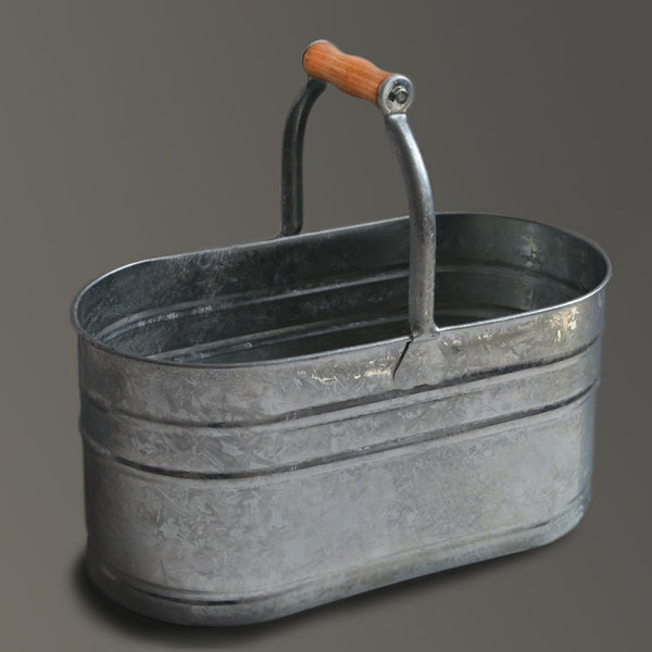 Housekeepers Bucket Galvanised