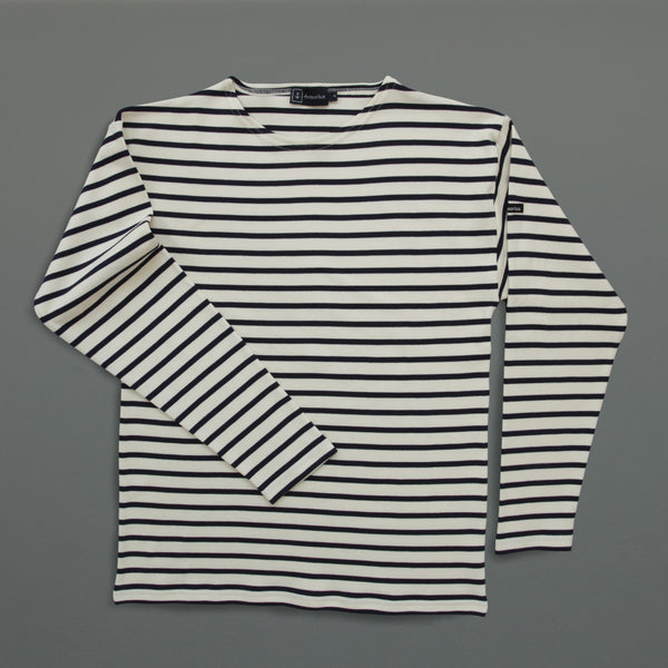 Breton Shirt - Cream/Navy