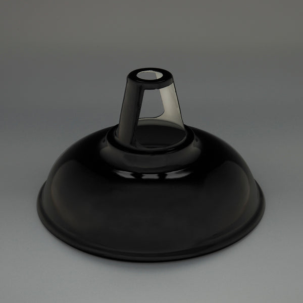 Enamel Lampshade Black