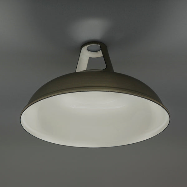Enamel Lampshade Grey