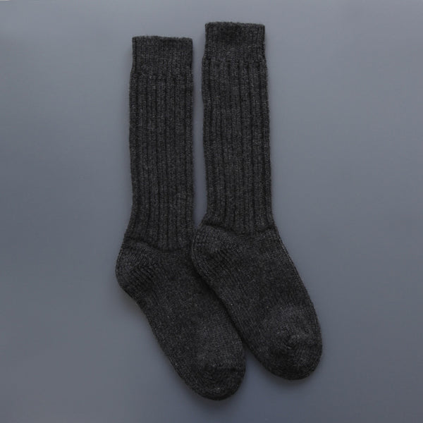 German Socks Charcoal