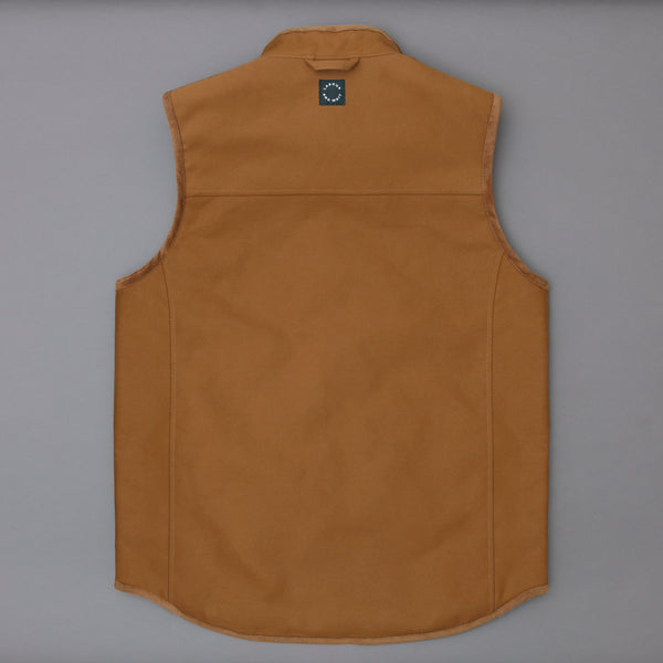 Workwear Gilet Brown