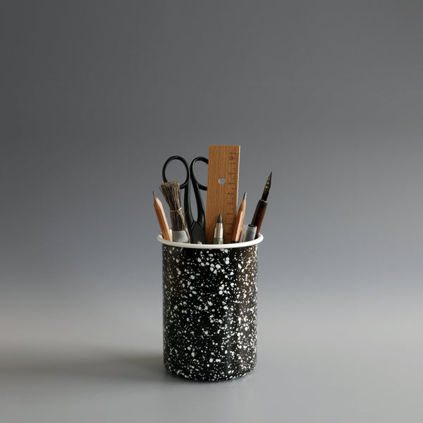 Enamel Pencil Pot