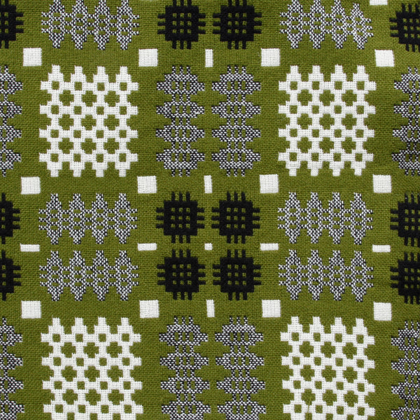 Welsh Tapestry Blanket Green