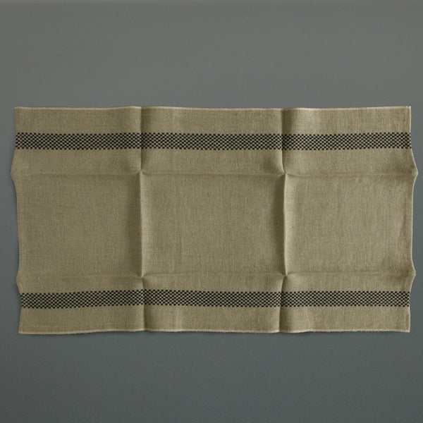 French Linen Tea Towel Chequer