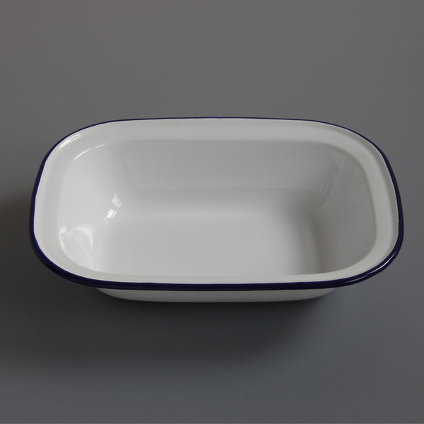 Enamel Pie Dish Large