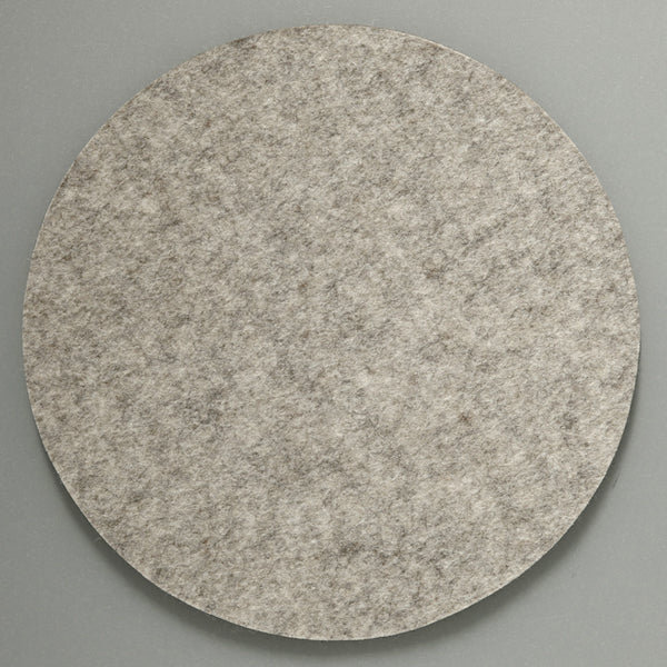 Felt Placemat - Light Grey