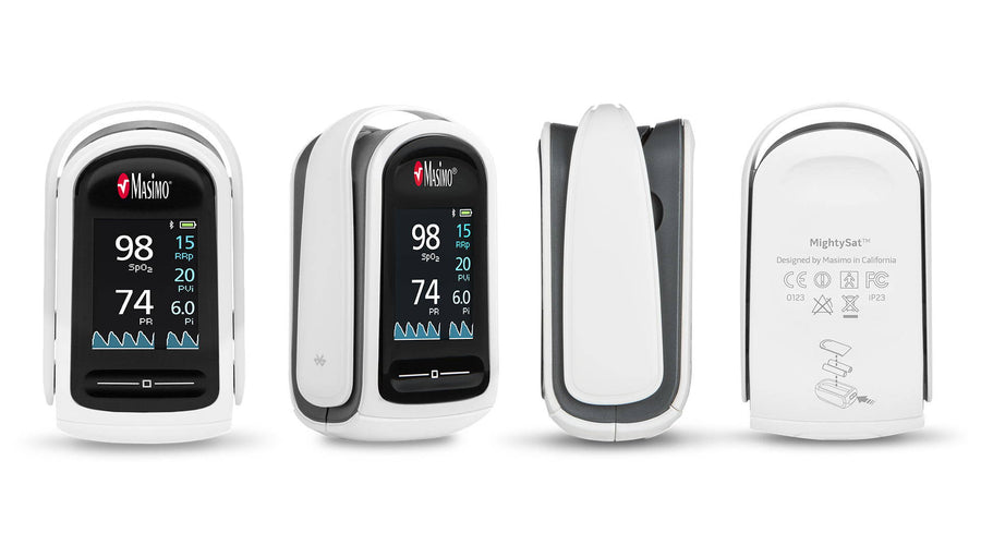 MightySat Fingertip Pulse Oximeter by Masimo Corporation – Review