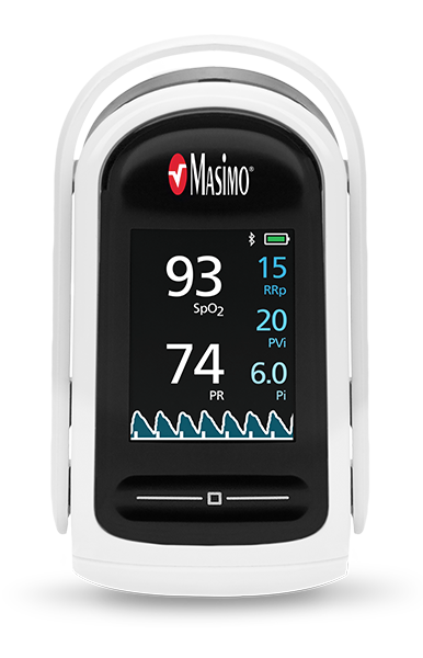 MightySat® Fingertip Pulse Oximeter with Bluetooth LE, RRp, & PVi
