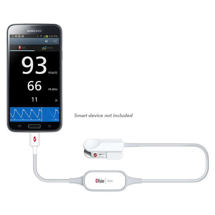 iSpO2® Pulse Oximeter with Micro USB Connector for Android Device