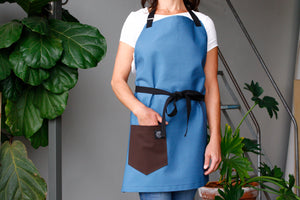 Home Chef Apron: Sky Blue