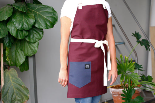 Home Chef Apron: Burgundy