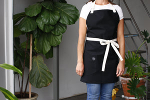 Home Chef Apron: Black