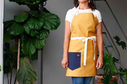 Home Chef Apron: Gold