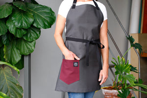 Home Chef Apron: Gray
