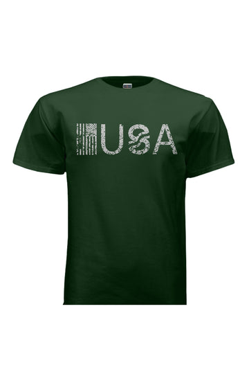 T-Shirts - USA Green