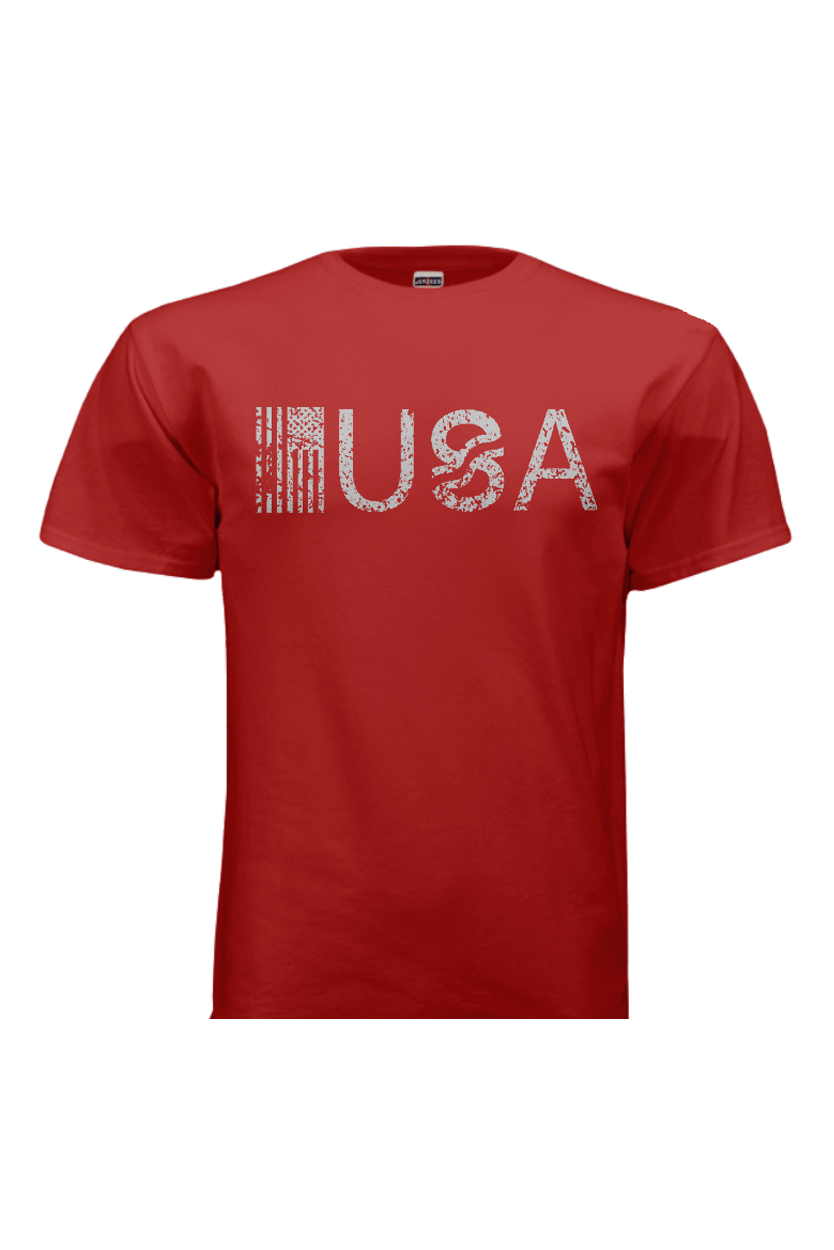 T-Shirts - USA Red