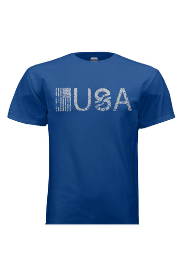 T-Shirts - USA Royal