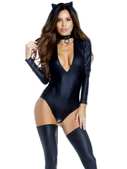 Catwalk Sexy Cat Bodysuit Costume