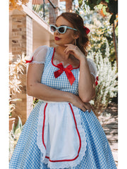 Kansas Sweetie Classic Wizard of Oz Dorothy Costume - Shop Fortune Costumes Lingerie