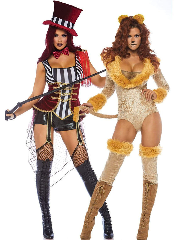Daring Lion Tamer Womens Costume - Shop Fortune Costumes Lingerie