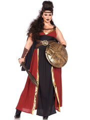 Plus Size Womens Regal Warrior Gladiator Costume - Shop Fortune Costumes Lingerie