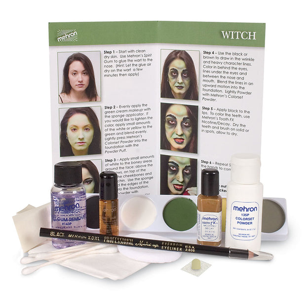 Mehron Character Makeup Kit Witch - Costumes & Lingerie Australia