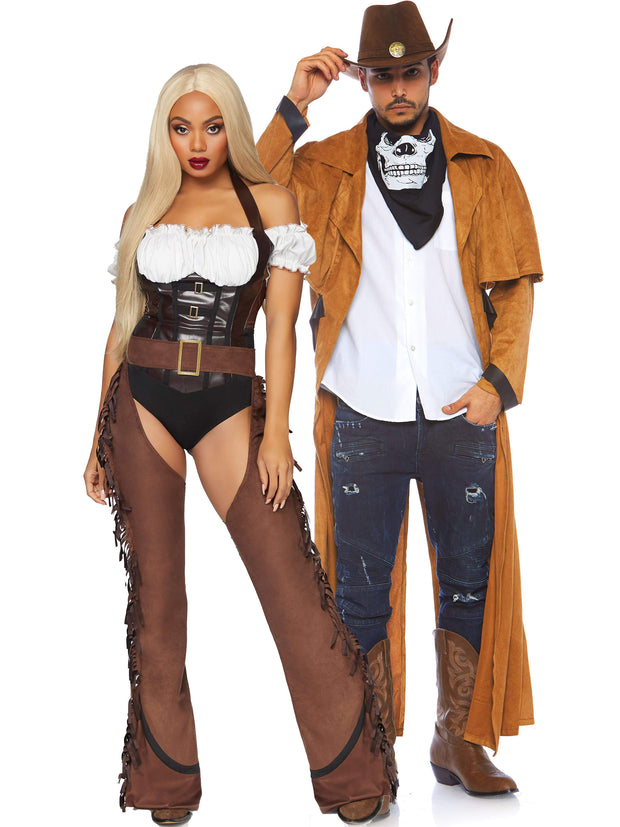 Mens Cowboy Costume Jacket