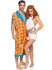 Mens Fred Flinstone Costume