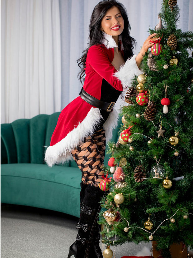 Dear Santa 3 Piece Womens Sexy Christmas Costume - Costumes & Lingerie Australia