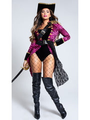 Womens Sexy Swashbuckler Pirate Costume - Costumes & Lingerie Australia