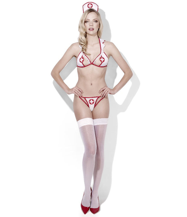 Sexy Nurse Doctors Orders Role-play Lingerie Costume - Costumes & Lingerie Australia