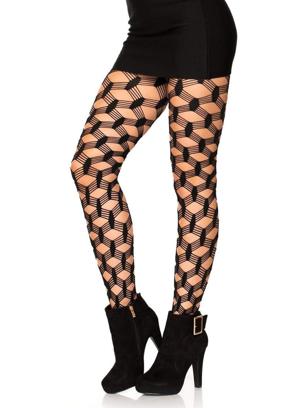 Hardcore Net Sexy Pantyhose 5 String Fishnets - Costumes & Lingerie Australia