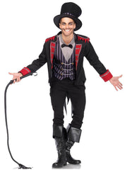 Sinister Ringmaster Mens Circus Costume - Shop Fortune Costumes Lingerie