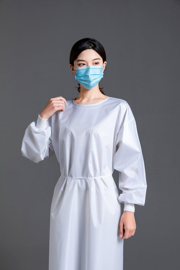 Reusable Isolation Medical Gowns AAMI Level 2  - Box of 10pcs, 60pcs and 600pcs