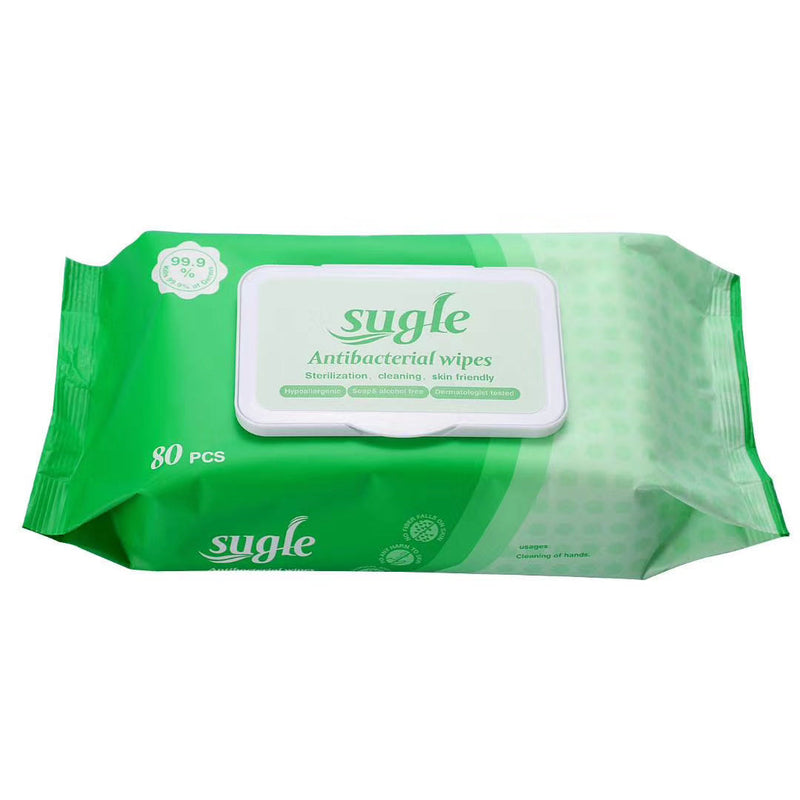 Antibacterial Wipes Kills 99.99% Germs box 5 bags
