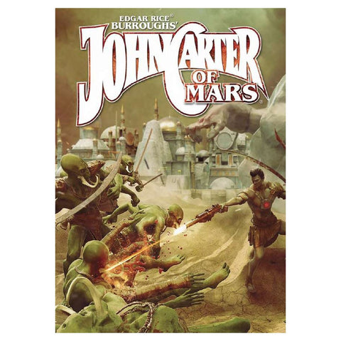 John Carter of Mars: Adventures on the Dying World of Barsoom Core Rulebook