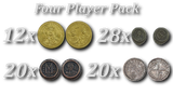 Swords & Sails Metal Coins Pack