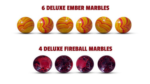 Fireball Island: Deluxe Marbles