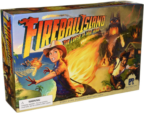 Fireball Island: The Curse of Vul-Kar - Game Bundle