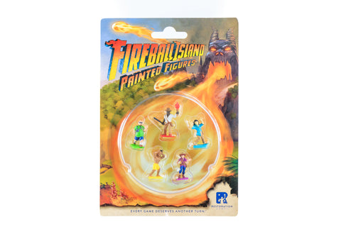 Fireball Island: Painted Miniatures