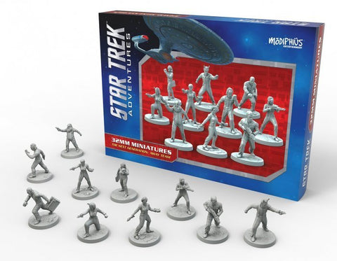 Star Trek Adventures: Miniatures: Next Generation Away Team