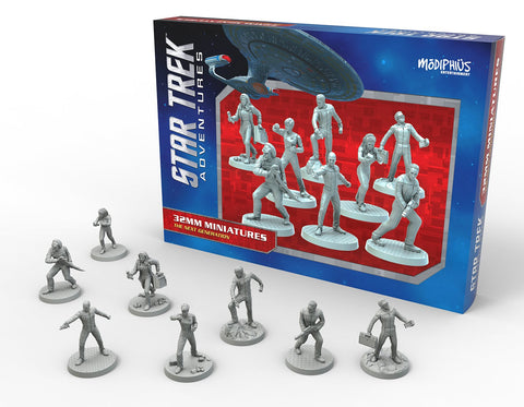 Star Trek Adventures: Miniatures: The Next Generation Bridge Crew
