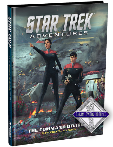 Star Trek Adventures: Command Division Supplementary Rulebook