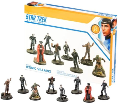 Star Trek Adventures Miniatures: Iconic Villains