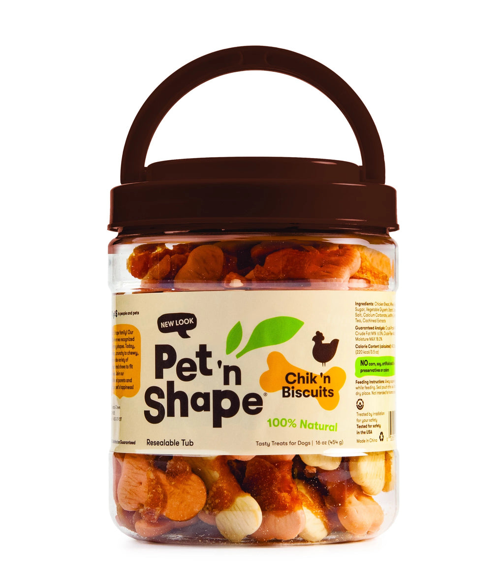 Pet N Shape Chik n Biscuits
