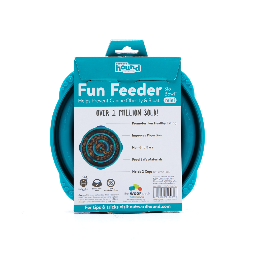 Fun Feeder Slow Bowl Outward Hound