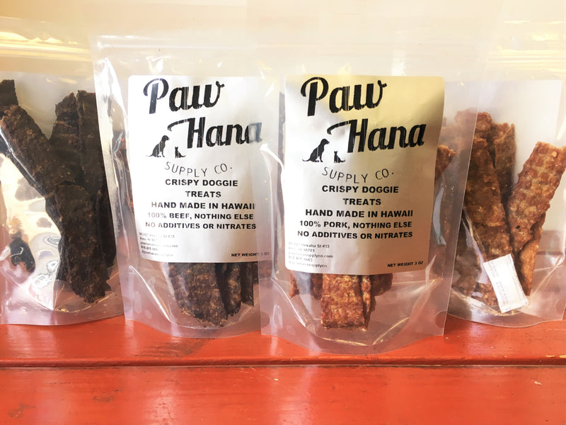 3oz Paw Hana Crispy Doggie Treats
