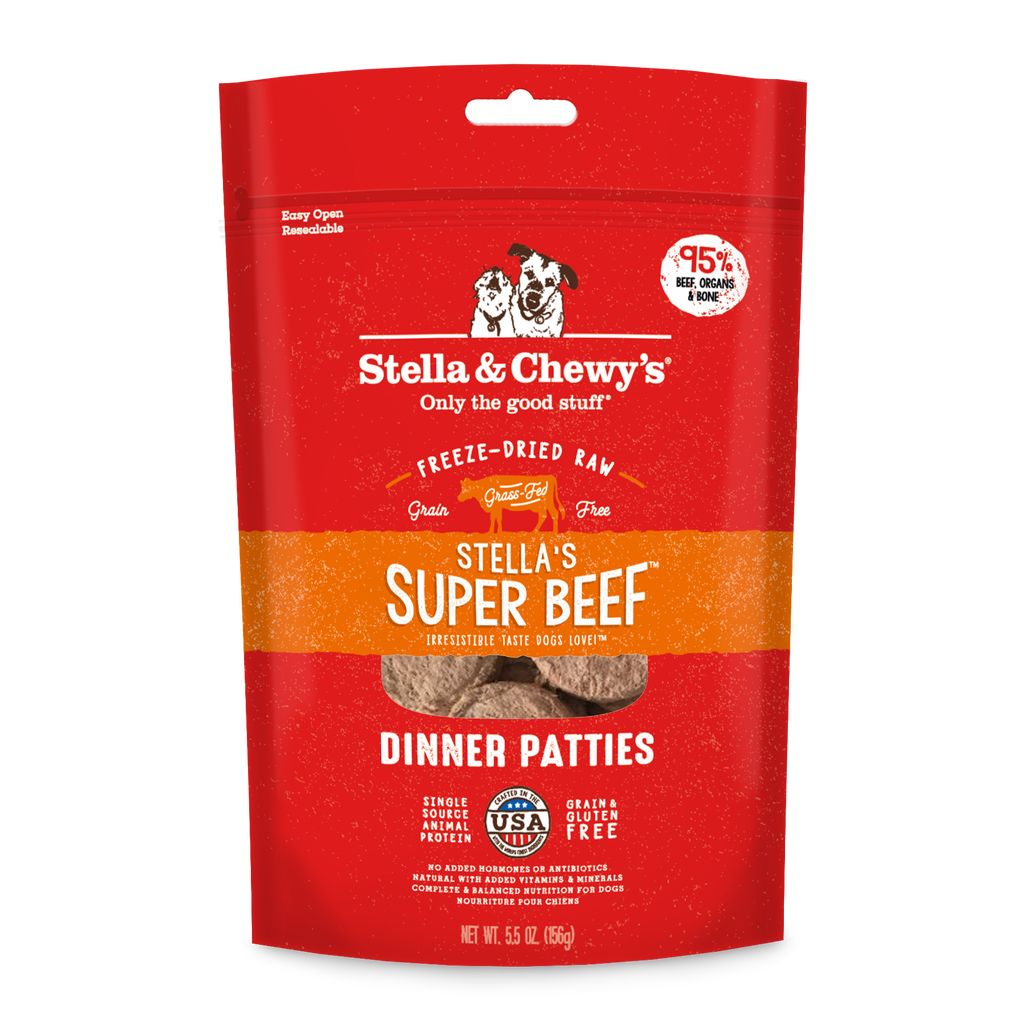 Stella & Chewy's Beef Freeze-Dried Dinner Patties