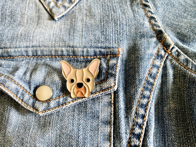 Dog Enamel Pins
